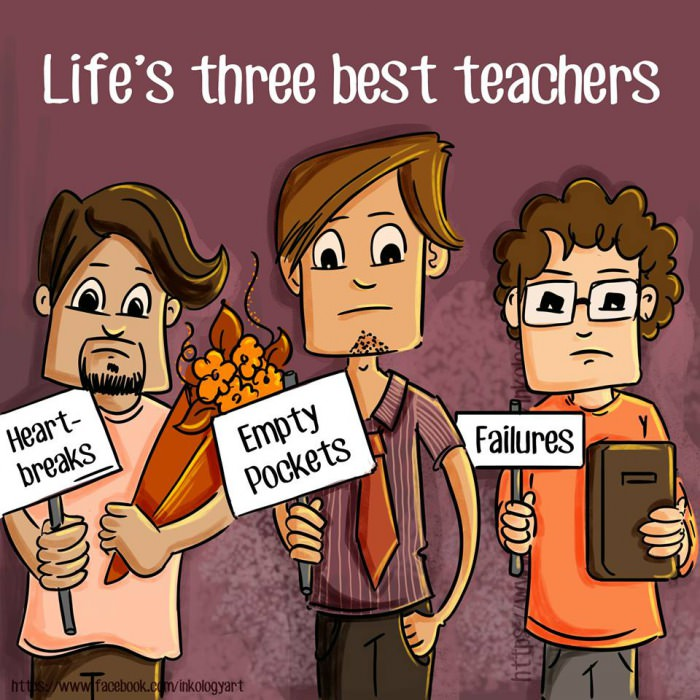 Best teachers in Life