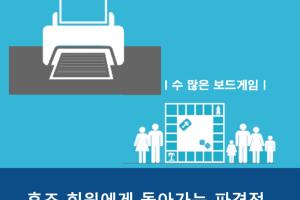 2017년 2학기 가두모집 홍보물