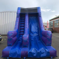 10ft Blue And Purple Slide