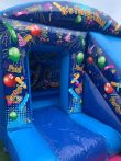 Party Themed Box Jump And Slide