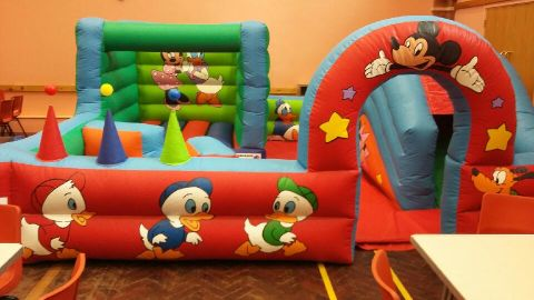 Disney Playpen Soft Play Zone
