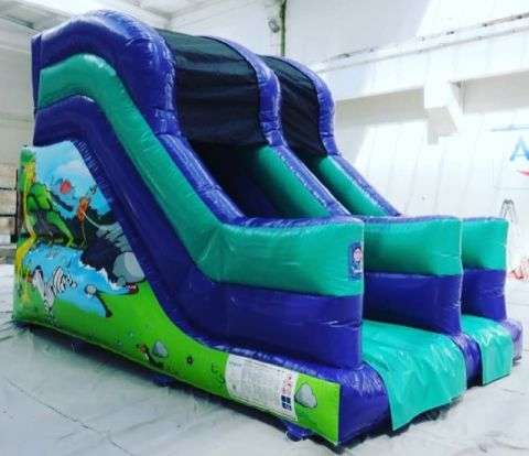 8ft Platform Jungle Slide