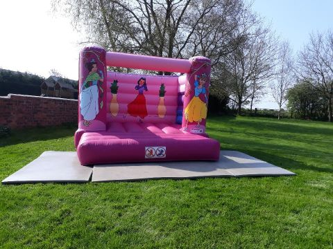 Princess Bouncy Castle 1