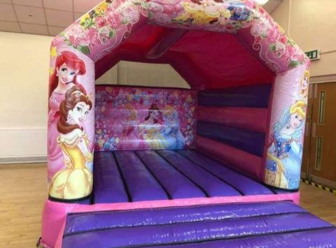 Princess Bouncy Castle 2