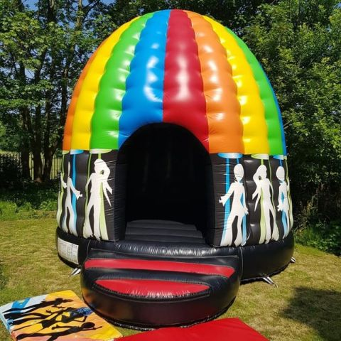 Rainbow Disco Dome