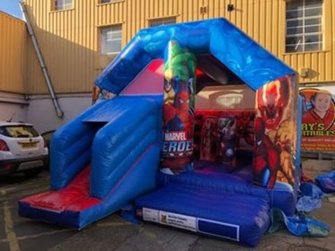 Superheros Activity Bouncy Castle