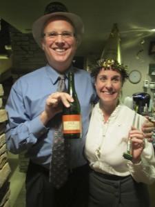 Joe Saul-Sehy and wife Cheryl