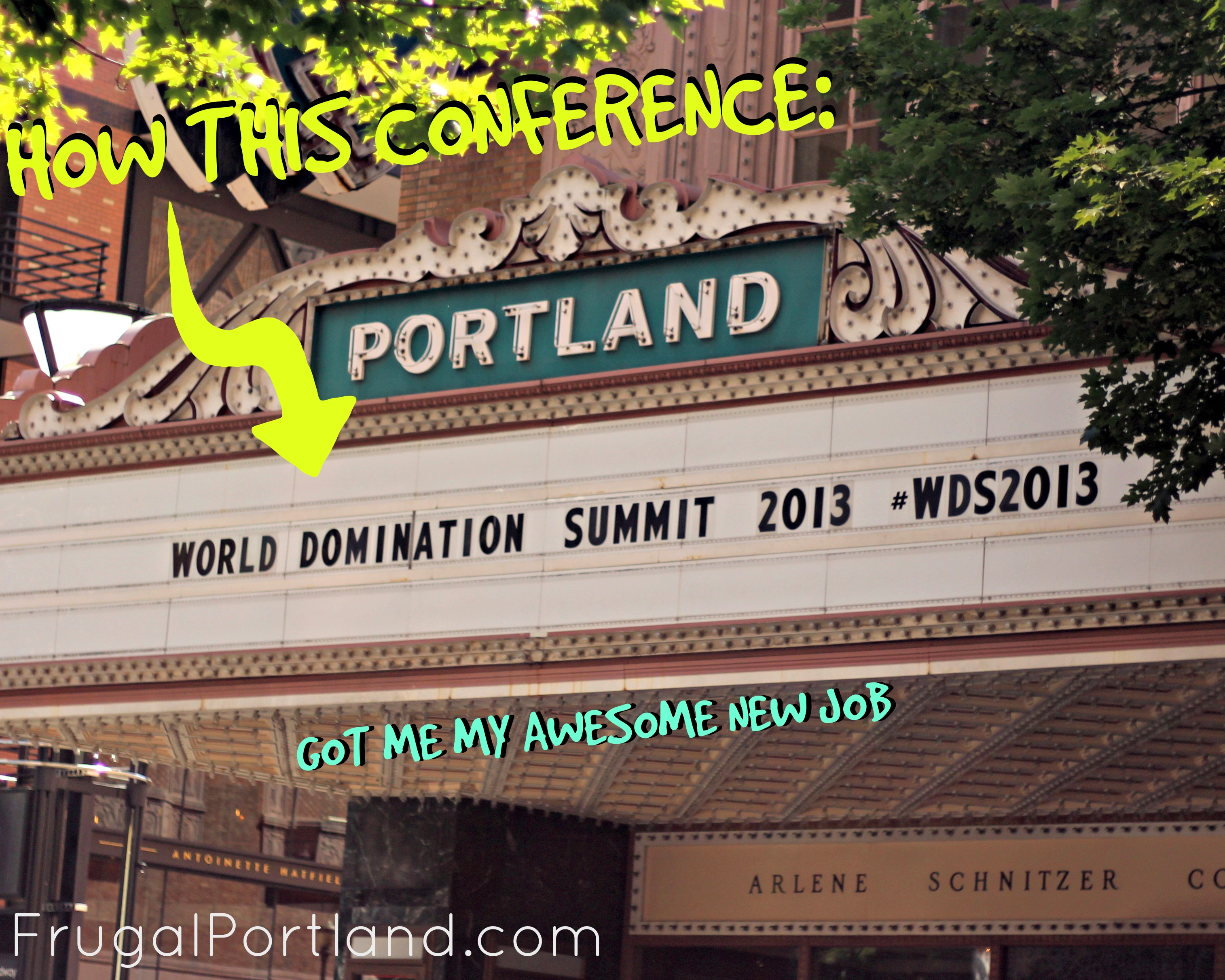 #WDS2013 helped me get my new job