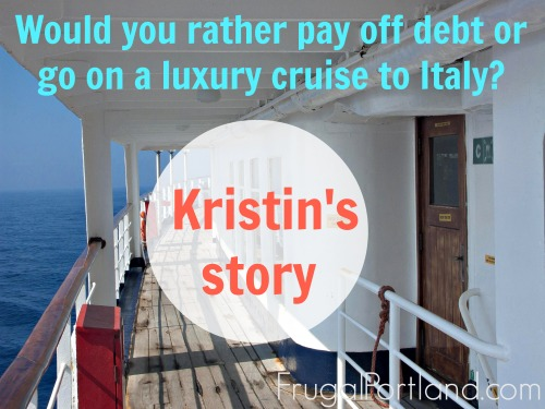 pay off debt or go on a cruise