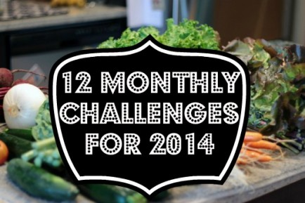 12 Monthly Challenges to Cut Down on Spending and Stress