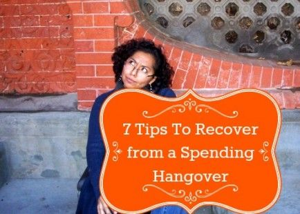 Hitting Reset - 7 Tips to Recover from a Holiday Spending Hangover