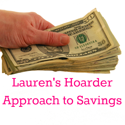 Read @lbeemoneytree's hoarder approach to savings