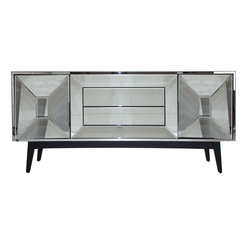 Comprar Espejo Plata Dm Y Espejo Retro 180 X 47 X81 # Muebles Kulunka