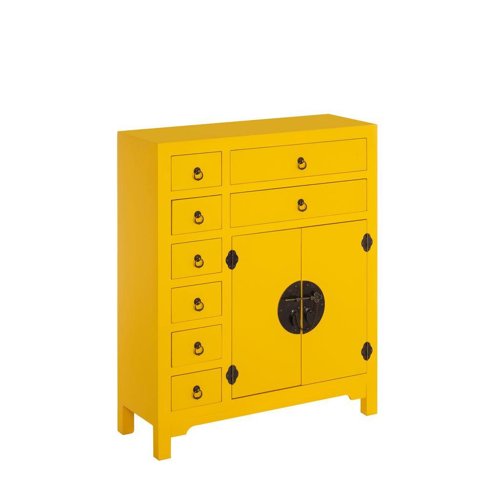 Comprar Mueble Auxiliar Amarillo Dm Oriental 73 00 X 26 00 # Muebles Kulunka