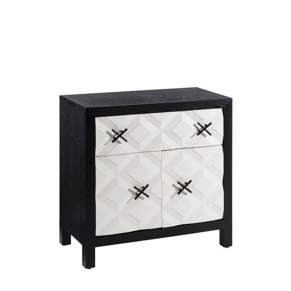 Comprar Recibidor Negro Blanco Madera Moderno 81 00 X 40 00 # Muebles Kulunka
