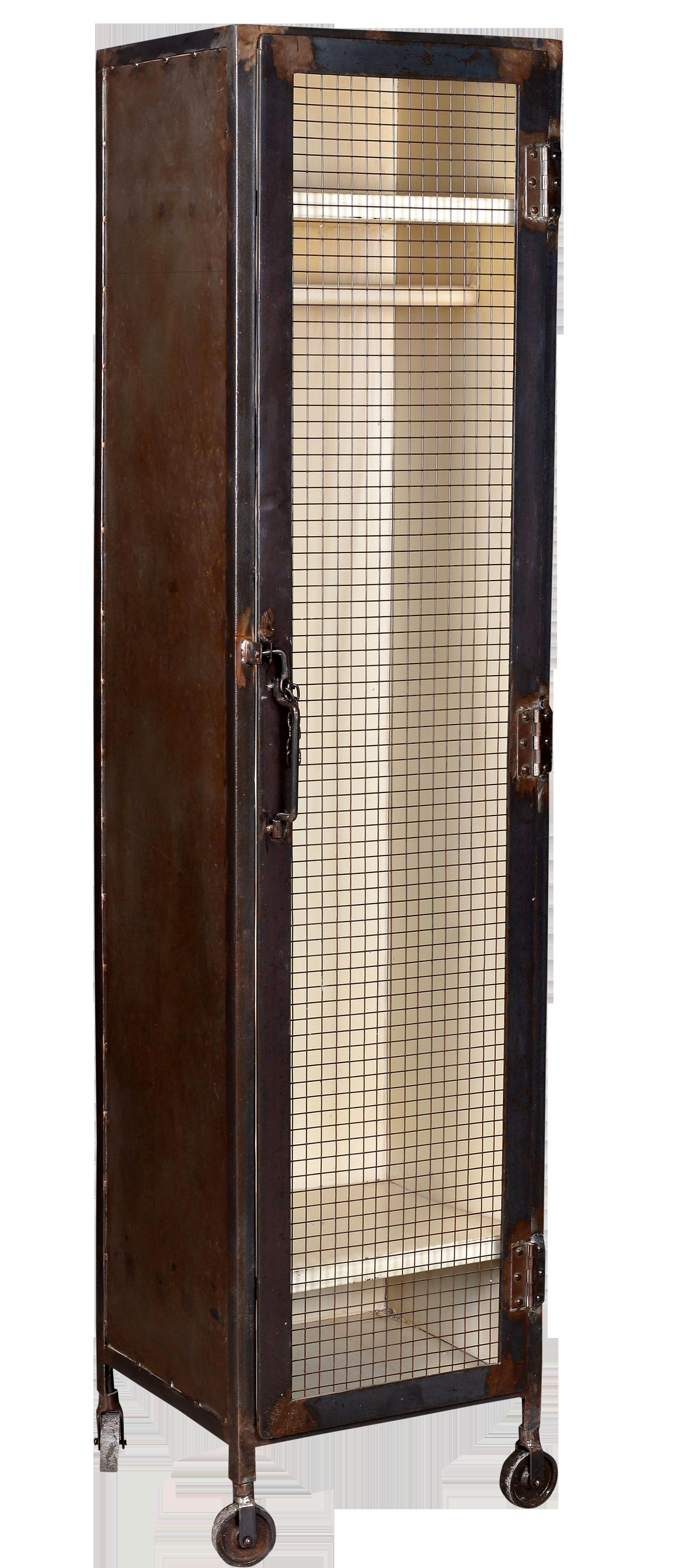 Comprar comprar armario transparente hierro industrial - Armarios de hierro ...