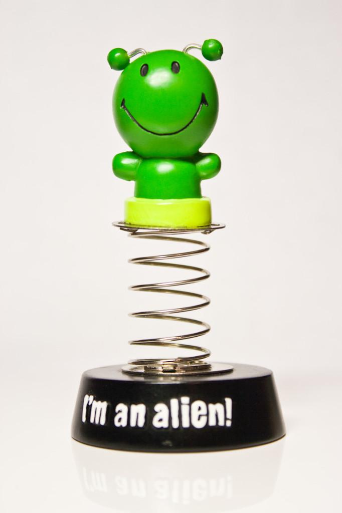 alien green monster kenobi kenobius пришелец НЛО зеленый монстр зелени apple макбук macbook
