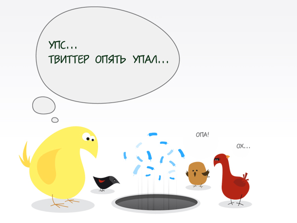 twitter down tvitter twiter твиттер твитер лежит сервер