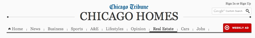 Chicago Tribune Dishes on Home Design Trend Casual Dining