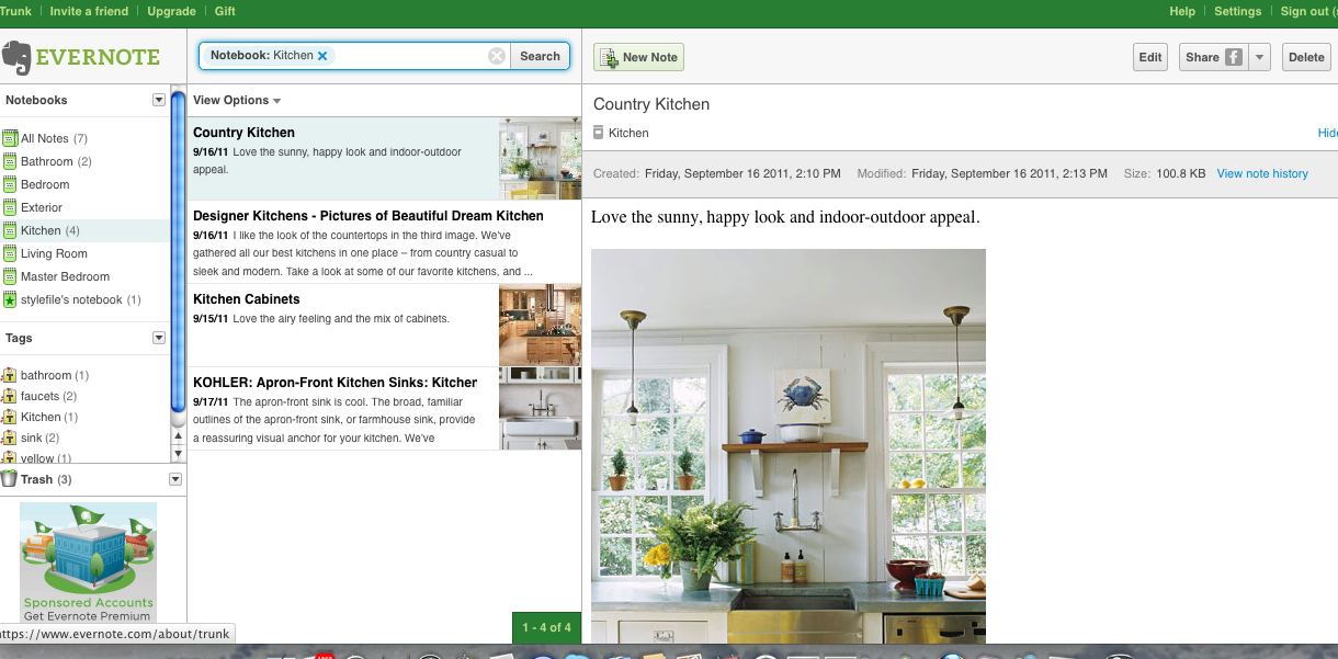 how to add photos to evernote