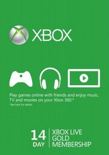 Xbox Live Gold 14 days Trial GLOBAL