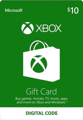 XBOX Live Gift Card $10 USA