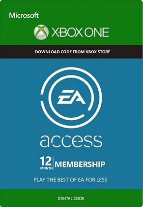 EA Access 12 months Xbox ONE GLOBAL