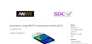 SDC Verifier at ANSYS event