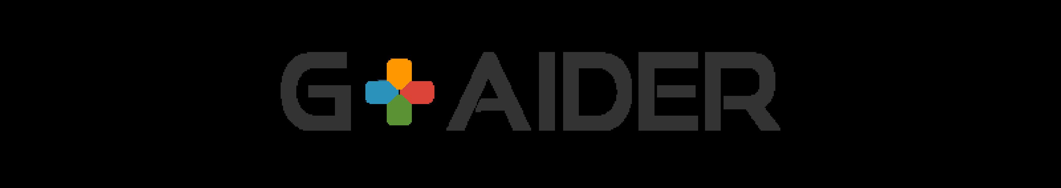 G+AIDER의 새로운 로고 발표