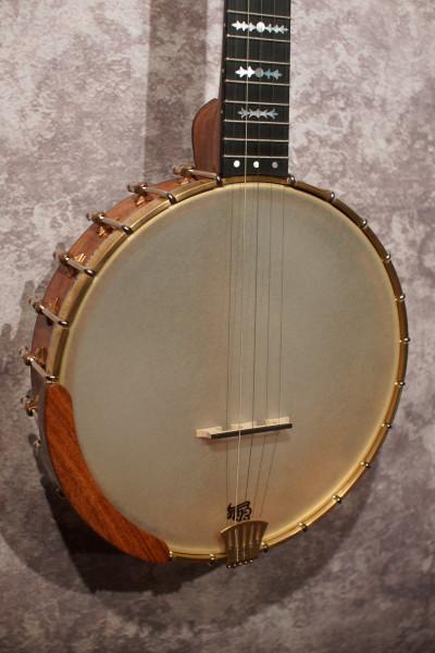 Watkins Mesquite & Cocobolo Banjo (1)