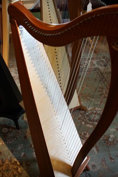 Dusty Strings Crescendo Full Lever Harp (3)