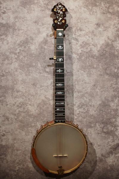 Watkins Mesquite & Cocobolo Banjo (8)