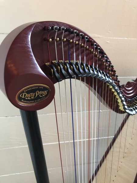 Dusty Strings Serrana 34 Harp w/pickup (2)