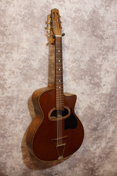 1950's A. Di Mauro French Gypsy Jazz Guitar (5)