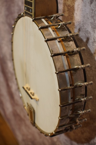 1927 Vega Tubaphone Conversion Banjo (4)