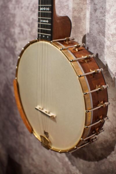 Watkins Mesquite & Cocobolo Banjo (7)