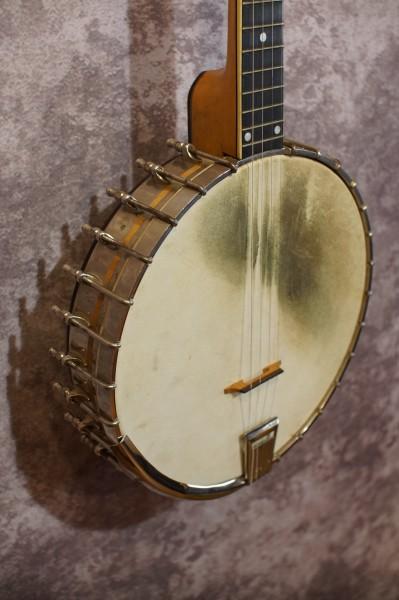1927 Vega #2 Whyte Laydie Plectrum Banjo (1)