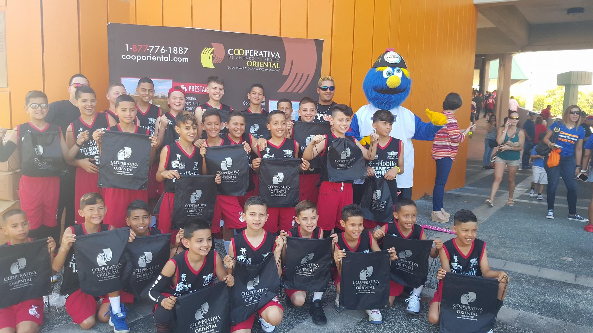 Uniformes Federación de Baloncesto de P.R.