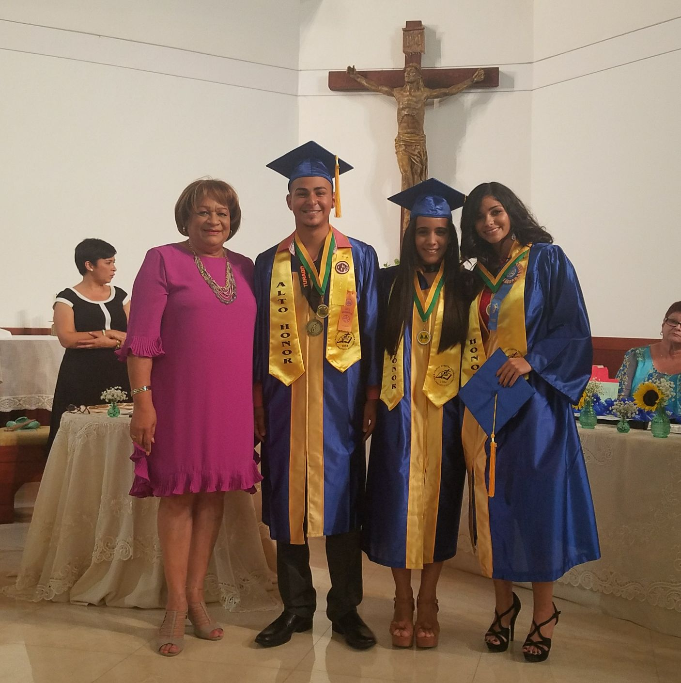 Entrega Medalla Luz A. Cruz de Santana