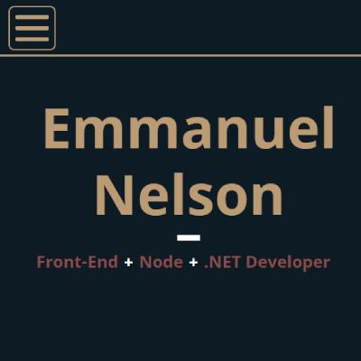 Emmanuel Nelson