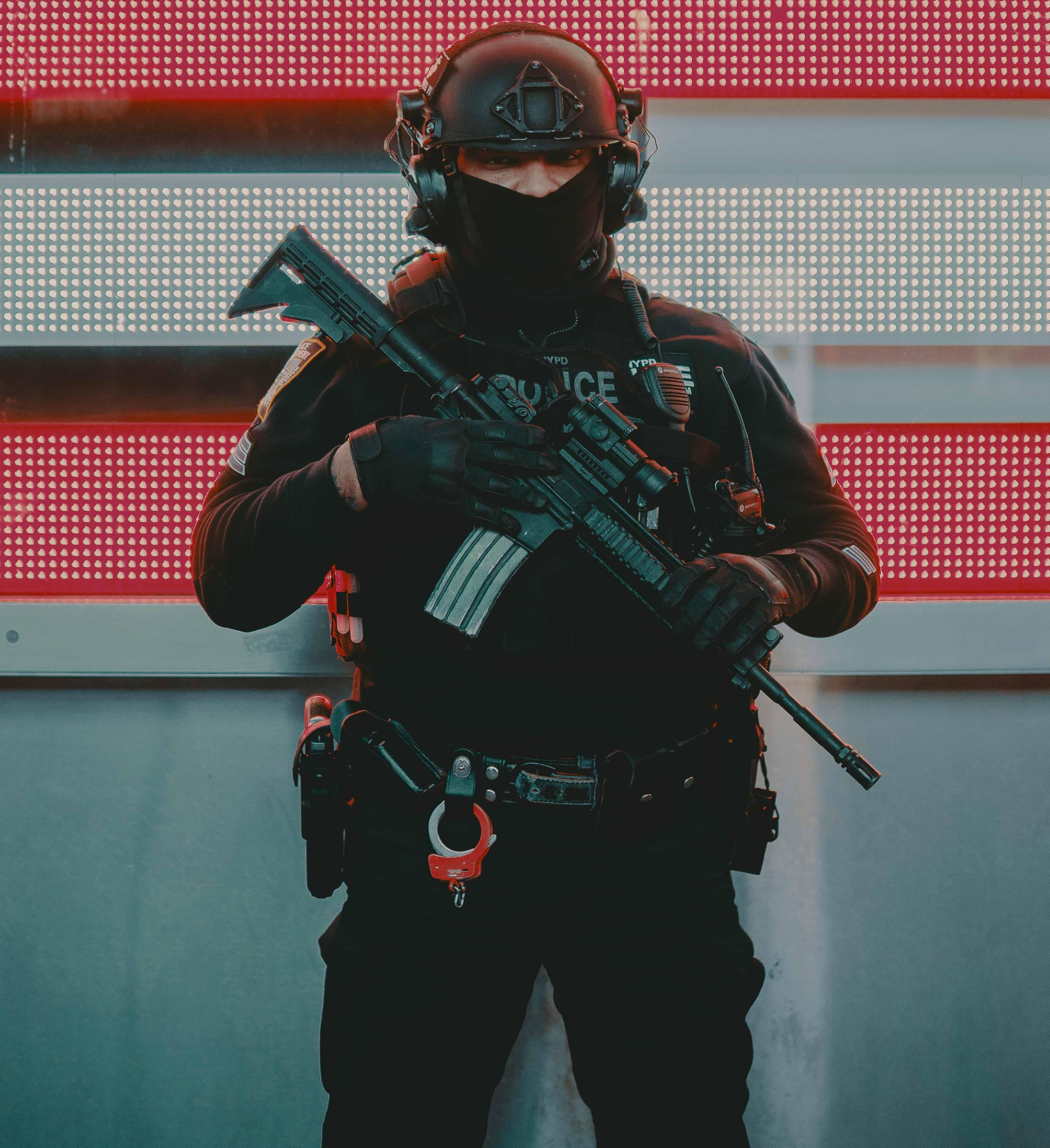 Police Militarization. Courtesy: Alec Favale/Unsplash