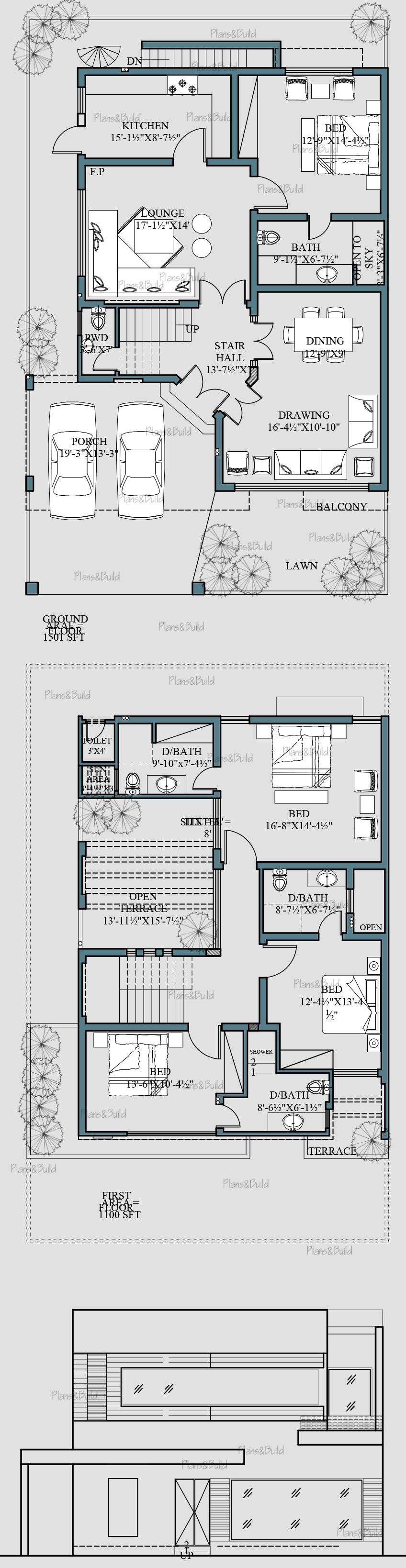 Plans And Build 10marla House Plans