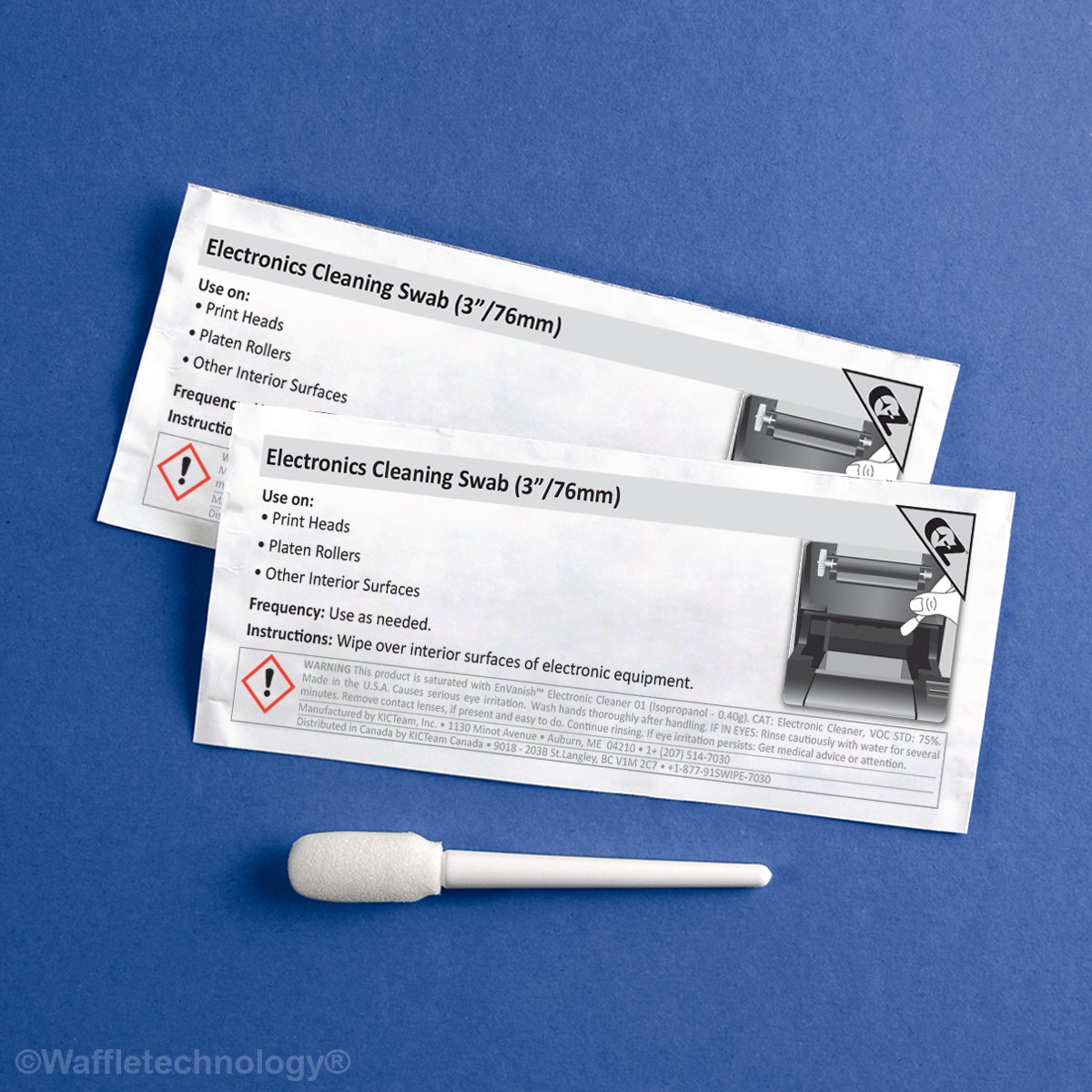 Electronics Cleaning Swab (3in/76mm)