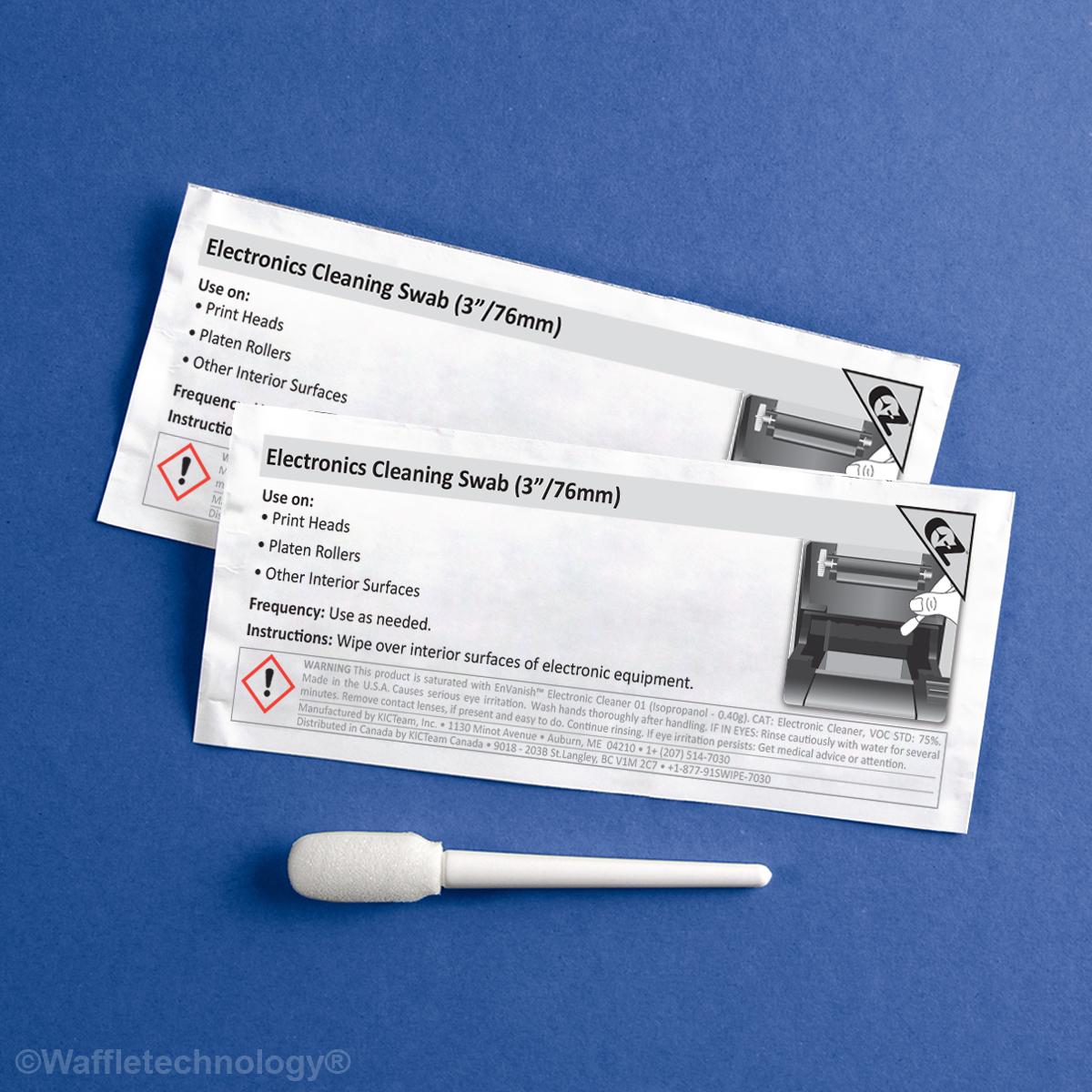 Electronique nettoyage écouvillon (en 3 / 76mm)