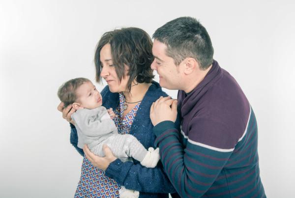 Sesión fotográfica bebé, fotógrafo niños en Zaragoza 1