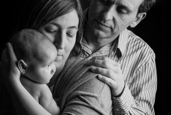 Reportaje de fotografía Newborn,  recién nacido en Zaragoza 3
