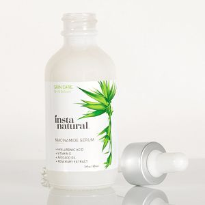 InstaNatural Niacinamide Serum - Facial Age Reducer Bottle