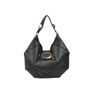 Roger Vivier Geometric Hobo Shoulder Bag