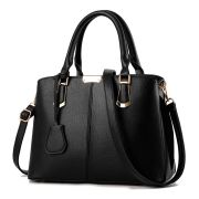 Black Classic Jingpin Tote with Shoulder Strap