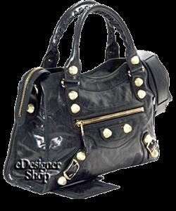 Balenciaga Giant City Bag Black